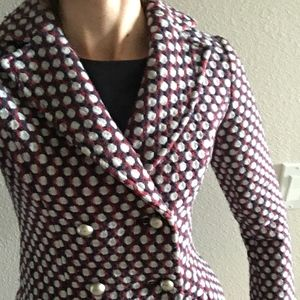 Etam (French designer) Wool blazer jacket